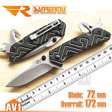 Sanrenmu 7056 T4 New EDC folding tool,cutter,opener. Quality Elegance G10 knife