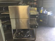 "Lincoln Impinger II 18"" Double Stack Pizza Conveyor Oven 1133 1100 Series"