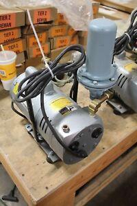 Gast Model 1023-101Q-G608X Compressor Rotary Vane Vacuum Pump