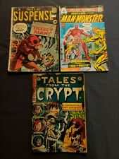 3 Comics Tales From Crypt 34 1953 Tales Of Suspense 24 1961 Tales Of Evil 3 1975