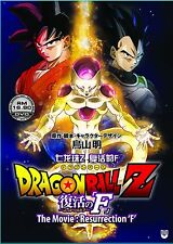 "DVD Dragon Ball Z The Movie: Resurrection ""F"" + Free Shipping"