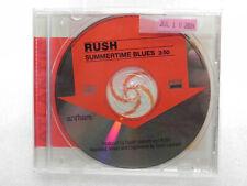 "Rush - PROMO CD / Single  ""Summertime Blues"""