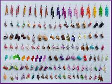 LOT 10 PAIRES DE BIJOUX GOURMANDS FIMO BOUCLES D'OREILLE funny earring