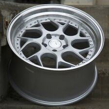 Aodhan DS01 18x9.5 +30 5x114.3 Silver Staggered (Set of 4)