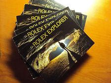 Rolex EXPLORER LIBRETTO BOOKLET Vintage per REF. 14270 16570 114270 Anni vari