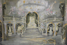 1975 gouache painting operetta ''The Csárdás Princess'' ''The Gipsy Princess''