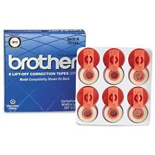 Brother International 3015 6pk Lift-off Correction Tape Supl For Typewriters