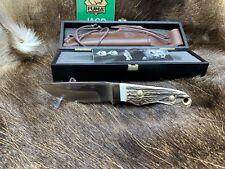 2018 Puma 6010 Skinmaster (Jagdmesser) Knife Stag Handles Mint Presentation Case