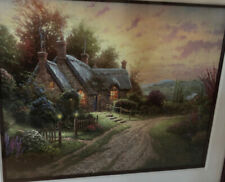 Thomas Kinkade : Hand Signed Numbered Lithograph Titled Peaceful Time