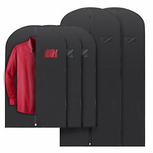 5x Mixed Sizes PLX Hanging Garment Bags for Storage Travel Suit Bag Dress Shirt