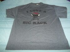 I Love a Huge Rack T-Shirt Size XL ribs funny cookout grill