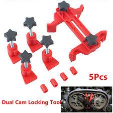 Dual Cam Camshaft Lock Master Camclamp Kit Engine Timing Sprocket Locking Tool