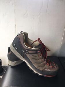 Salewa 63413 L Mens Mountain Trainers Size 9 Hiking Shoes