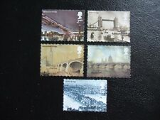 SG2309-2313 2002 Bridges of London. Used Set of Stamps.