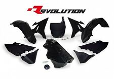 Yamaha YZ250 2013 2014 2015 2016 2017 Black Revolution Plastic Kit & Fuel Tank