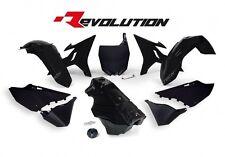 Yamaha YZ125 2002 2003 2004 2005 2006 Black Revolution Plastic Kit & Fuel Tank