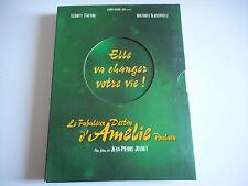 2 DVD -LE FABULEUX DESTIN D'AMELIE POULAIN de JEAN-PIERRE JEUNET ( + livret )