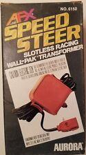 Aurora Slot Car Transformer Charger A/FX WALL-PAK 1979 #977111🔥