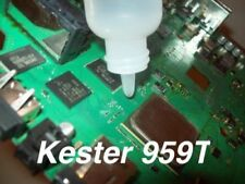 NO CLEAN LIQUID SOLDER FLUX KESTER 959T FOR REWORK OR REFLOW TOUCHUP & REPAIR
