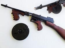 "Replica THOMPSON ""TOMMY GUN"" S.M.G. SUB-MACHINE GUN DENIX NON-FIRING"