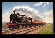 Railway L&SWR American Boat Express Tuck Oilette series VIII  #9161 PPC