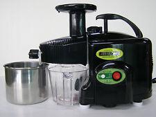 Green Power KPE-1304 TWIN GEAR Masticating Juicer ~ BLACK ~ NEW w/ Warranty