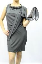 ABITO TWIN-SET SIMONA BARBIERI DONNA ПЛАТЬЕ, P2A20A GRIGIO MIS.XS AA 12 nva