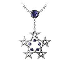 GENUINE Alchemy Gothic Pendant - Pentagramatron   Ladies Pentagram Necklace
