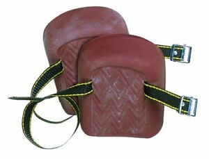CLC Custom Leathercraft 317 Molded Natural Rubber Kneepads, Single Strap