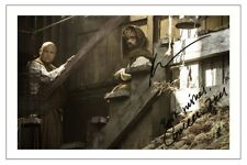 PETER DINKLAGE & CONLETH HILL GAME OF THRONES SIGNED PHOTO PRINT AUTOGRAPH