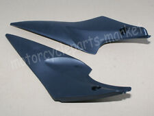 Pair Black Tank Side Fairing Panel Covers For Suzuki GSXR600 750 2006 2007 K6