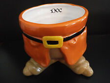 New!  RARE Disney Dwarf DOC Ceramic Pot/Planter