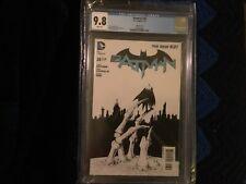 Batman 26 CGC 9.8  Greg Capullo Black & White Variant Cover. Limited 1 for 100.