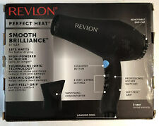 Revlon Smooth Brilliance 1875W Hair Blow Dryer w/ Ion Technology OPEN BOX