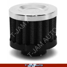 SAAS Mini Air Breather Black 25mm Catch Can Vent Filter NEW