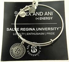 Alex and Ani Salve Regina University Russian Silver Graduation Bracelet Energy