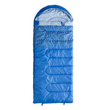 Caribee Moonshine Kids Hooded Sleeping Bag +10c-Blue