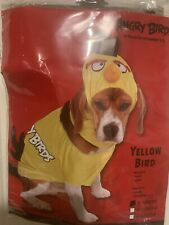 New Angry Birds Yellow Bird Dog Costume Size Small Jumpsuit & Hood