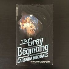 Barbara Michaels - The Grey Beginning - Tor Paperback - 1985 Vintage Horror Book