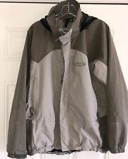 Patagonia Goretex Jacket Adult Medium Tan/ green Xcr