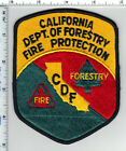 California Dept. of Forestry Fire Protection CDF3rd Issue Shoulder Patch