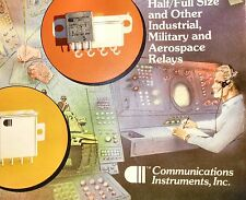 FW 1201 D00 COMMUNICATIONS INSTRUMENTS INC. MILITARY/AEROSPACE DPDT RELAY