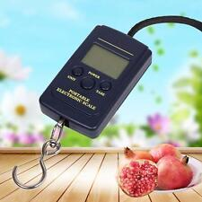 Useful New 20g-40Kg Digital Hanging Luggage Fishing Weight Pocket Scale Tool PK