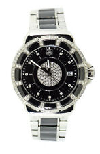 Tag Heuer Formula One Ceramic Diamond Stainless Steel Watch WH1219