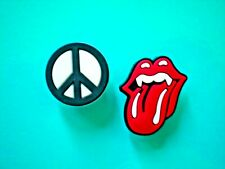 Garden Shoe Charm Plug Button Pin For Holey Accessories WristBand Rolling Stones