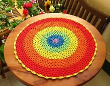 Home Kitchen Placemats Creative Coasters Crochet Mats Non-slip Dining Table Pads