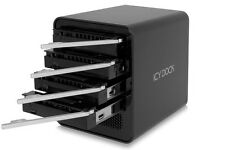 New ICY Dock MB561U3S-4SB R1 4 Bay USB 3.0 eSATA External HDD Enclosure Docking