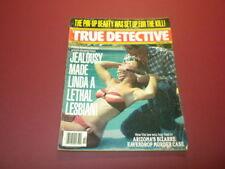 TRUE DETECTIVE magazine 1978 February CRIME MURDER POLICE CASES