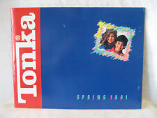 1991 vintage TONKA retailer toy catalog WWF Cupcakes monster truck car preschool