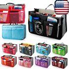 Women Travel Insert Handbag Organiser Purse Large Liner Organizer Tidy Bag EF